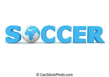 Soccer World Blue