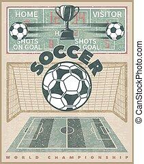 Soccer World Championship Poster