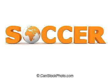Soccer World Orange