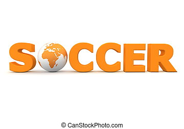 Soccer World Orange
