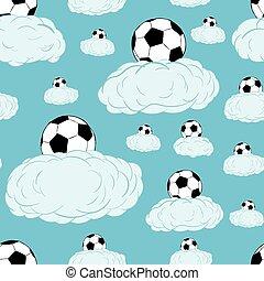 soccerballs, elhomályosul, seamless