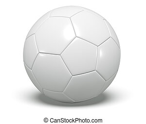 Soccer/football with white.