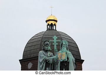 socha, cyril, svatý, methodius
