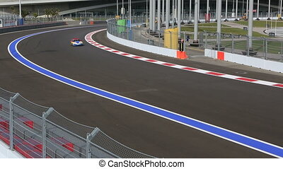 Sochi International Street Circuit. - Sochi, Russia -...