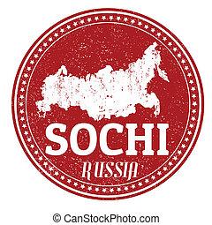 Sochi stamp