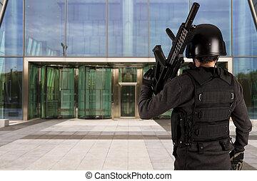 sociétés, complexe, défense, business, protéger