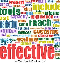 sociaal, media, marketing, woord, wolk