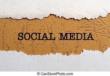 sociaal, media