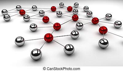 sociaal, netwerk
