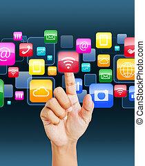 Social application icon