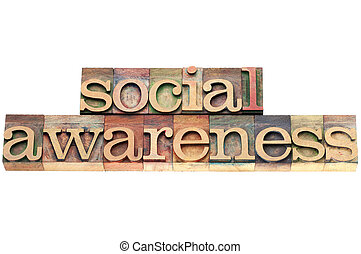 social awareness in wood type