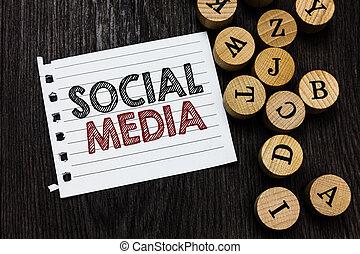 social, begrepp, nätverksarbetande, affär, stycke, trä, text, direkt, media., idéer, anteckningsbok, skrift, bakgrund., papper, ord, kommunikation, breven, cirkel, inspiration, kanalisera, microblogging