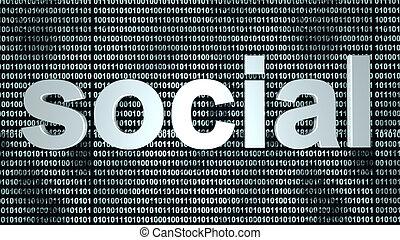 Social binary background