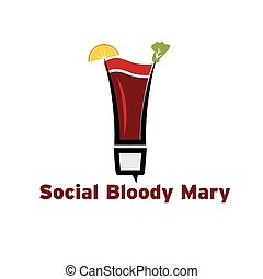 social bloody mary cocktail