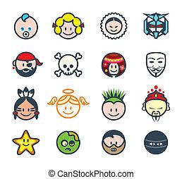 Social characters II