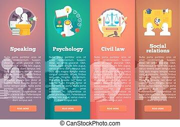 Social, civil and public relations. Civil law. Justice....