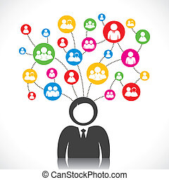 social, conexão