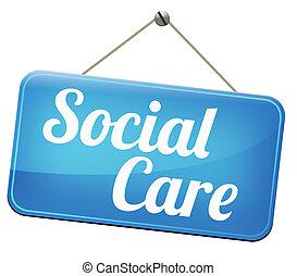 social, cuidado