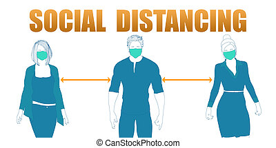 Social Distancing and Minimize Physical Contact to Reduce Virus Spread