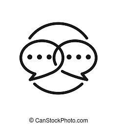 social engagement vector illustration design
