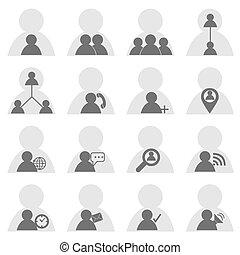 social, iconos