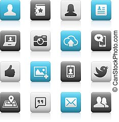 Social Icons - Matte Series