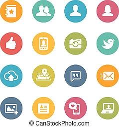 Social Icons Series