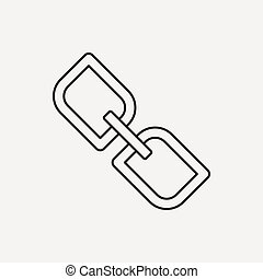 social link line icon
