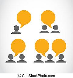social, mídia, viral, marketing, pessoas