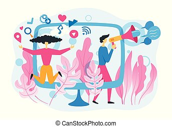 Social marketing concept