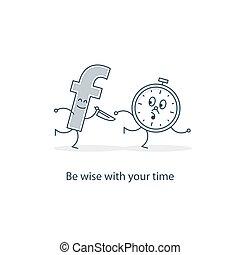Social media abuse concept