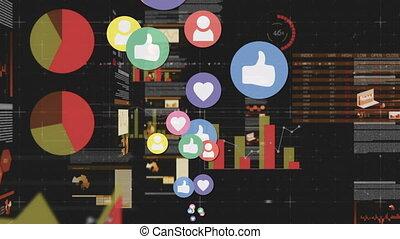 Social media and graphs