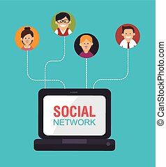 Social media and network