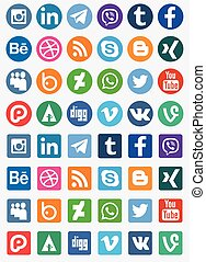 Social Media - Different types of social media collection