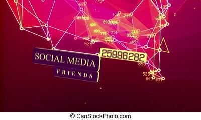 """""""social, media, comunicazione, in, il, globale, networks"""""""