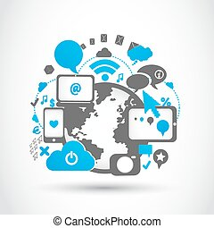 social media connection technology
