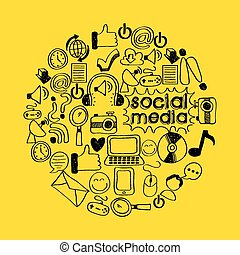 social media design, vector illustration eps10 graphic