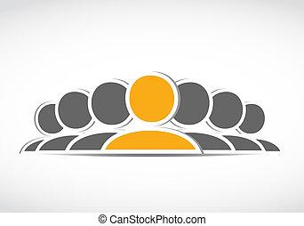 social media group icon