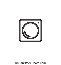Social Media Icon, photo camera instagram icons