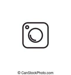 Social Media Icon, photo camera instagram icons - Social ...