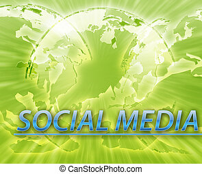 Social media internet website