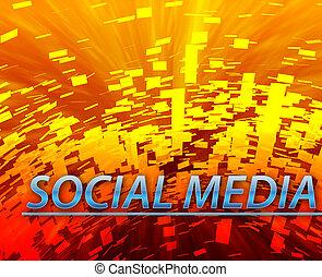 Social media internet website