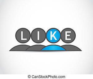 social media like group