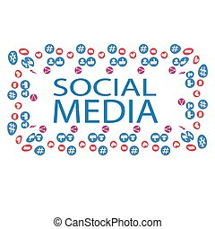 Social media marketing, Communication networking concept
