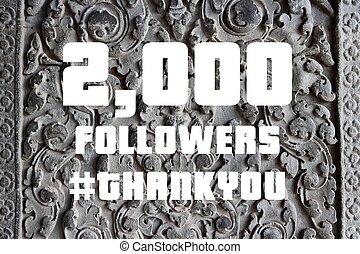 Social media milestone