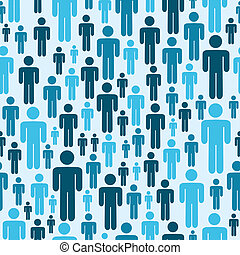 Social media people pattern