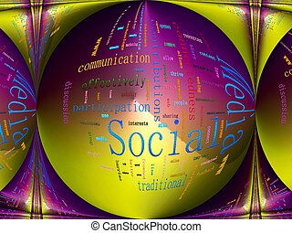 Social Media Related Text