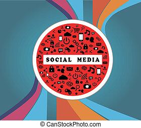 SOCIAL MEDIA TRAFFIC SIGN