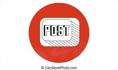 Social Media, Video animation, HD 1080