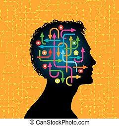 social, nätverk, kommunikation